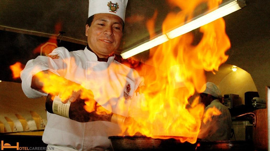 Nội quy phòng cháy chữa cháy trong bếp nhà hàng