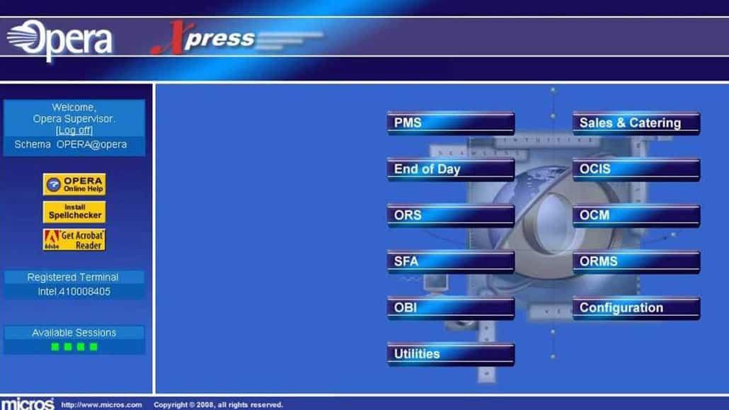 Phần mềm quản lý khách sạn OPERA