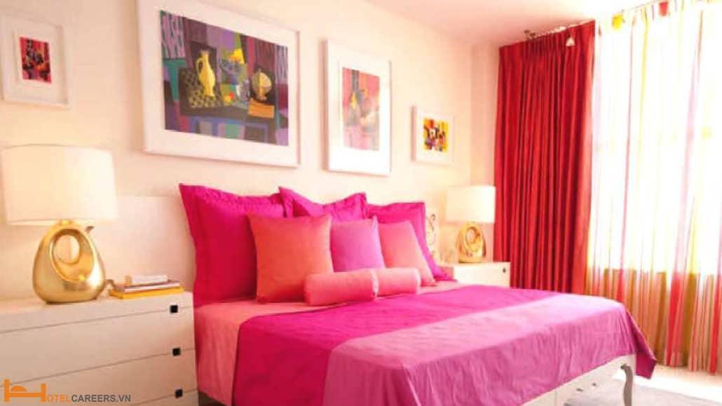 Phòng dành cho khách nữ độc thân