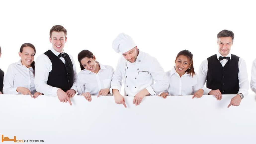 Quản lý nhà hàng khách sạn cần có khả năng phát triển nhân viên
