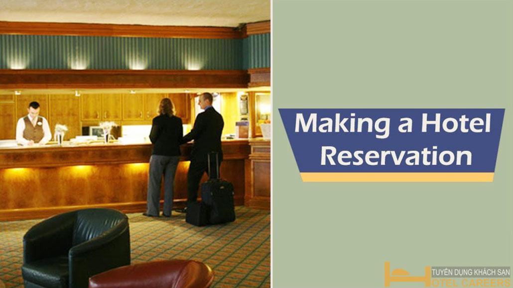 Quy trình tiếp nhận yêu cầu đặt phòng khách sạn