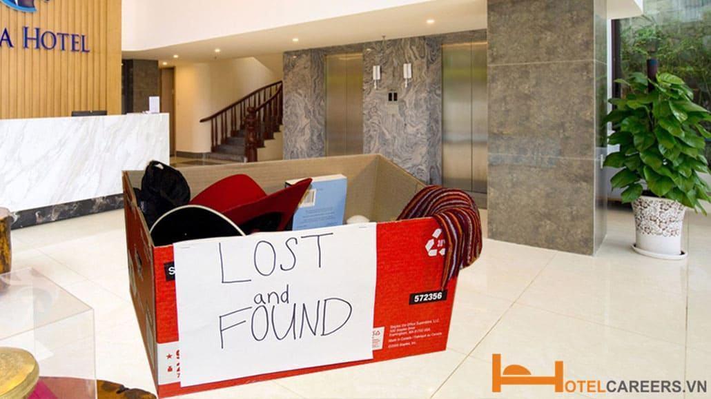 Quy trình xử lý đồ thất lạc trong khách sạn