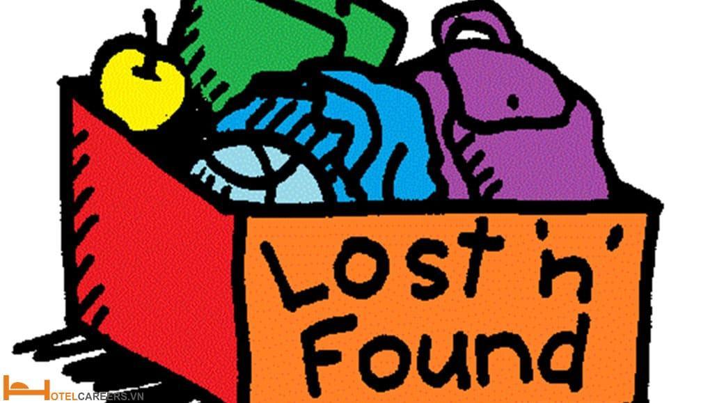 Quy trình xử lý Lost and found