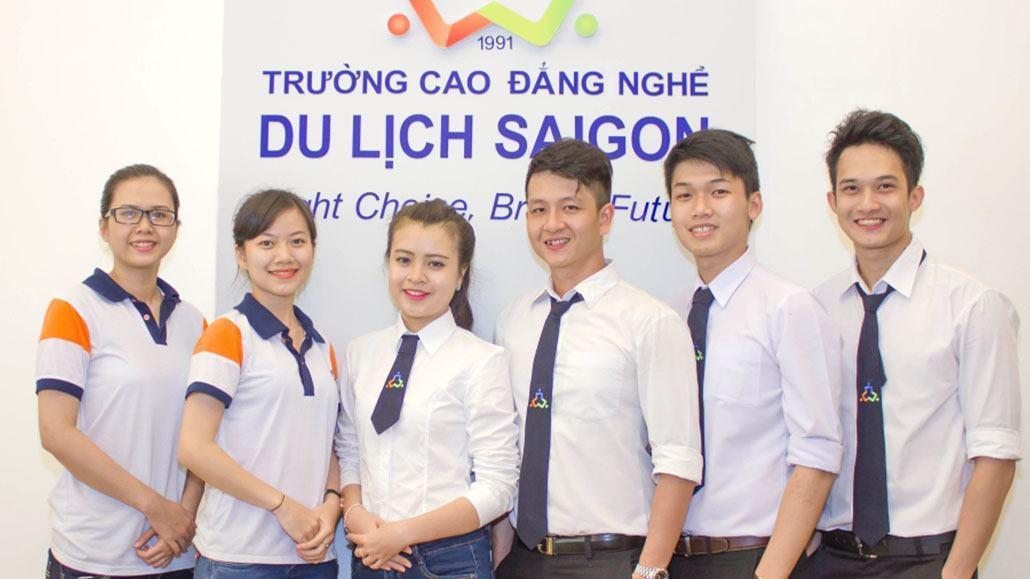 Sinh viên Trường Cao đẳng Du lịch Sài Gòn