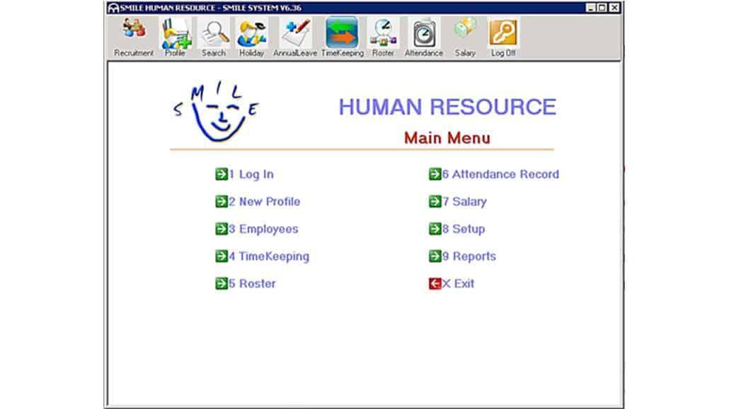 Phần mềm Smile HR