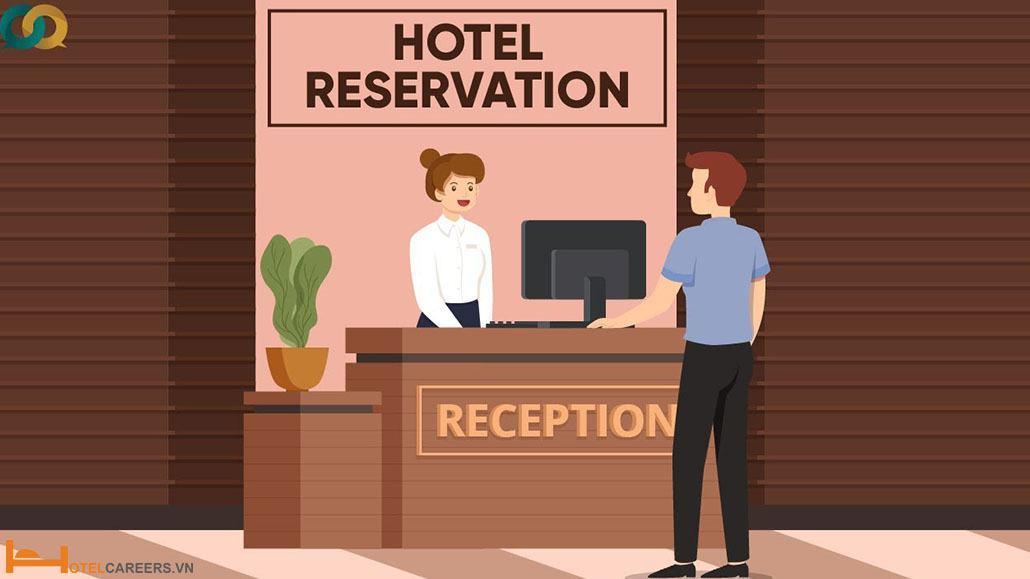Sơ đồ 4 giai đoạn trong chu kỳ lưu trú của khách tại khách sạn