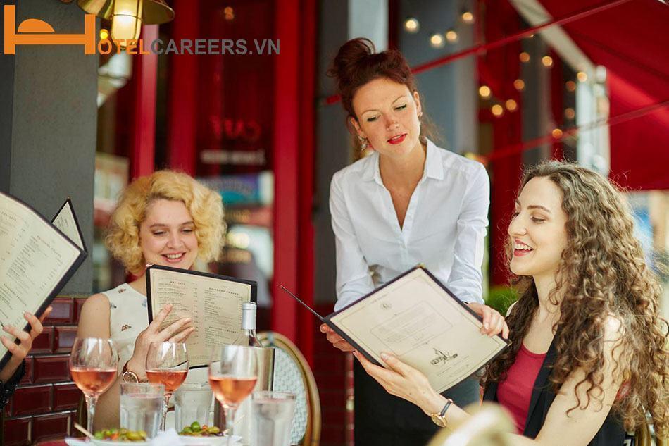 Bộ phận nhà hàng trong sơ đồ tổ chức khách sạn 5 sao