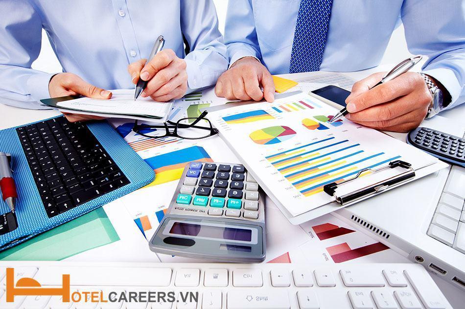 Bộ phận tài chính kế toán trong sơ đồ tổ chức khách sạn 5 sao