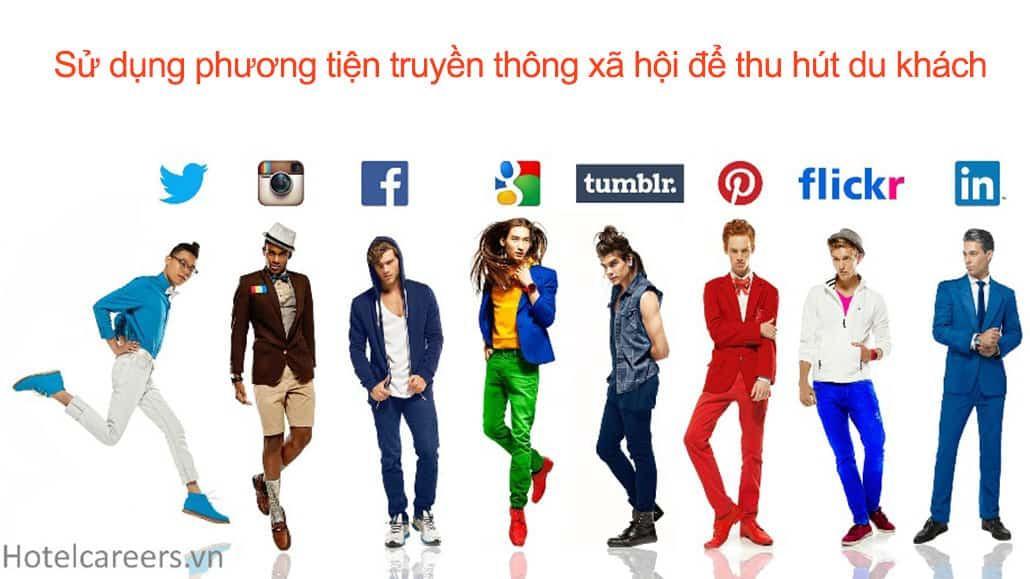 Sự dụng truyền thông xã hội để thu hút du khách