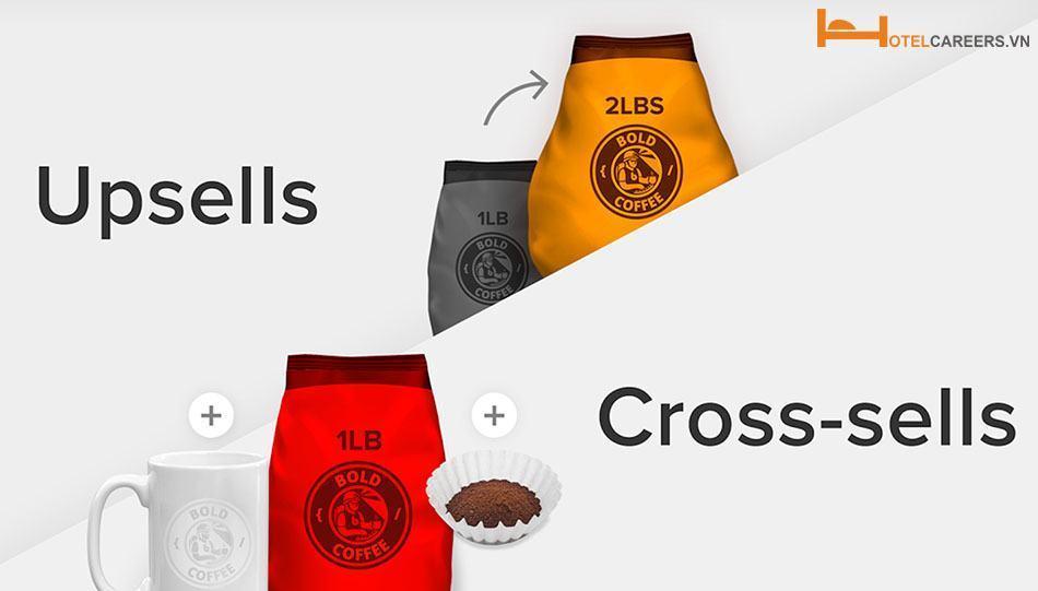 Sự các biệt giữa Cross-selling và Up-selling