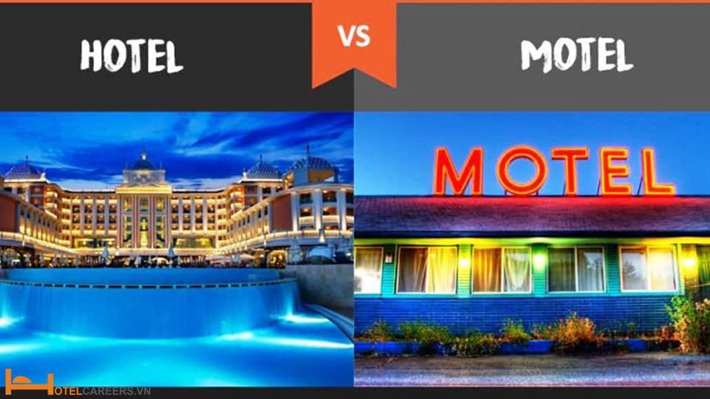Sự khác biệt giữa Hotel và Motel