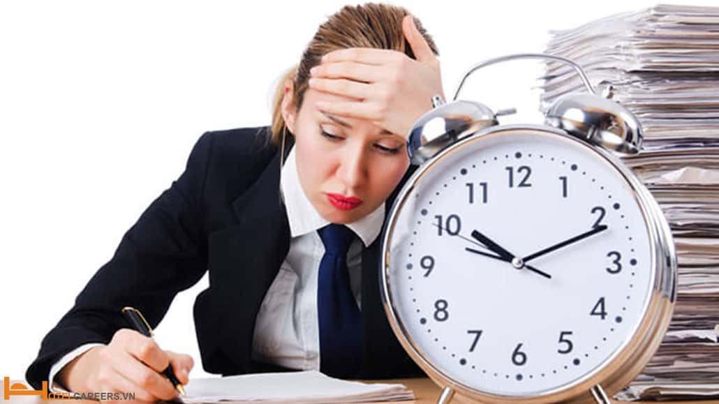 Sự chậm trễ gây mệt mỏi cho nhân viên