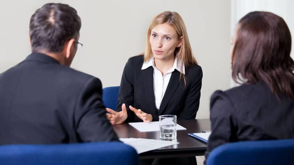 Thể hiện tích cực trong quá trình phỏng vấn