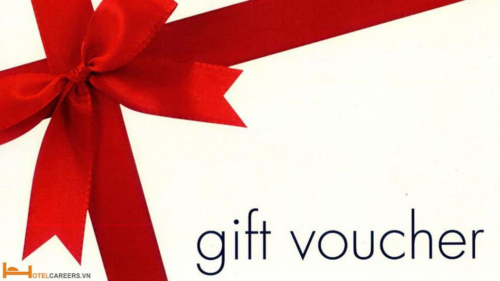 Thẻ quà tặng cho nhân viên