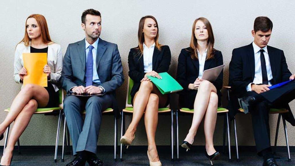 Thư giãn trước khi bước vào vòng phỏng vấn