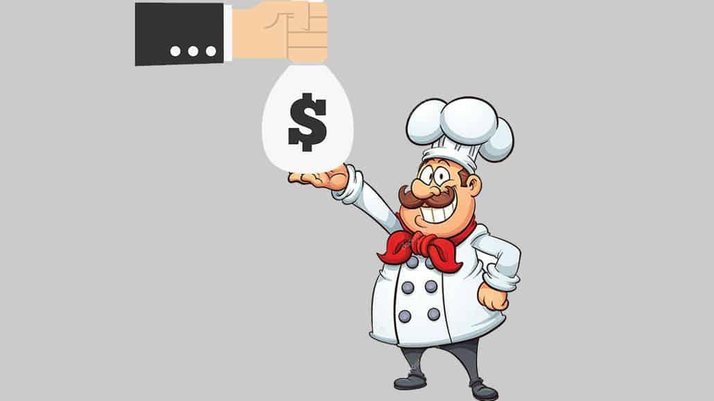 Thu nhập của bếp trưởng