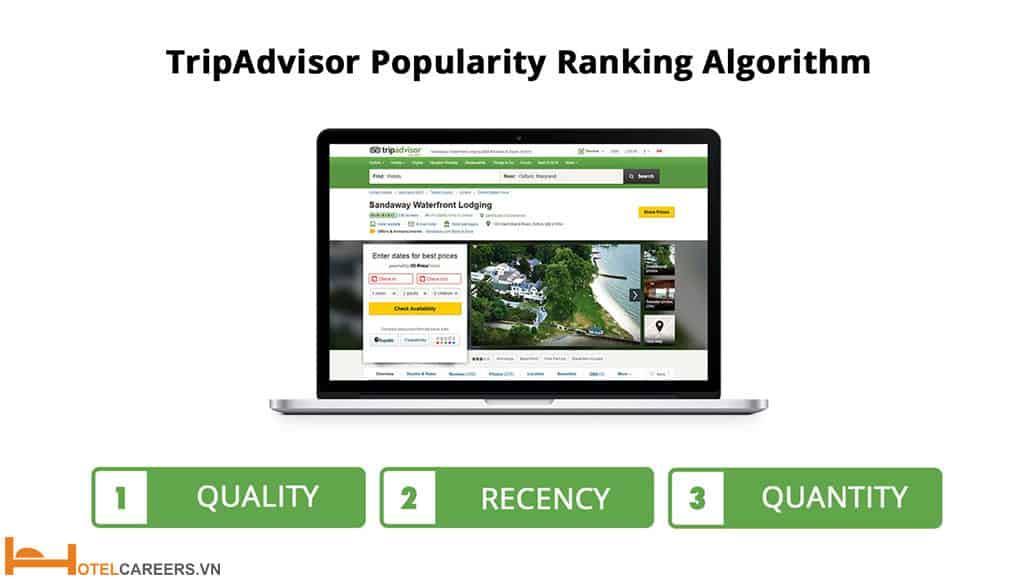 Thuật toán xếp hạng Tripadvisor