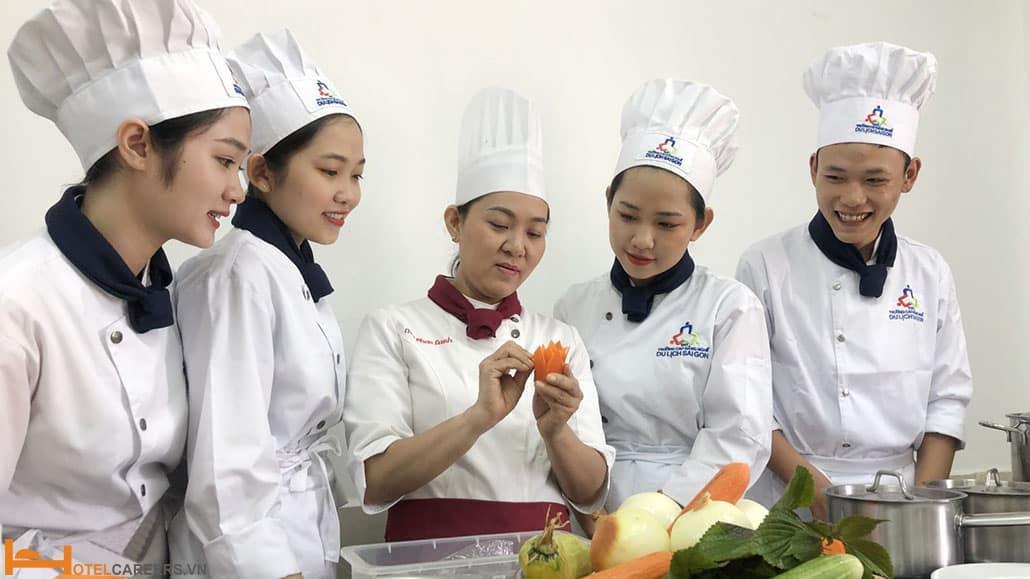 Tiêu chí chọn trường học chứng chỉ đầu bếp
