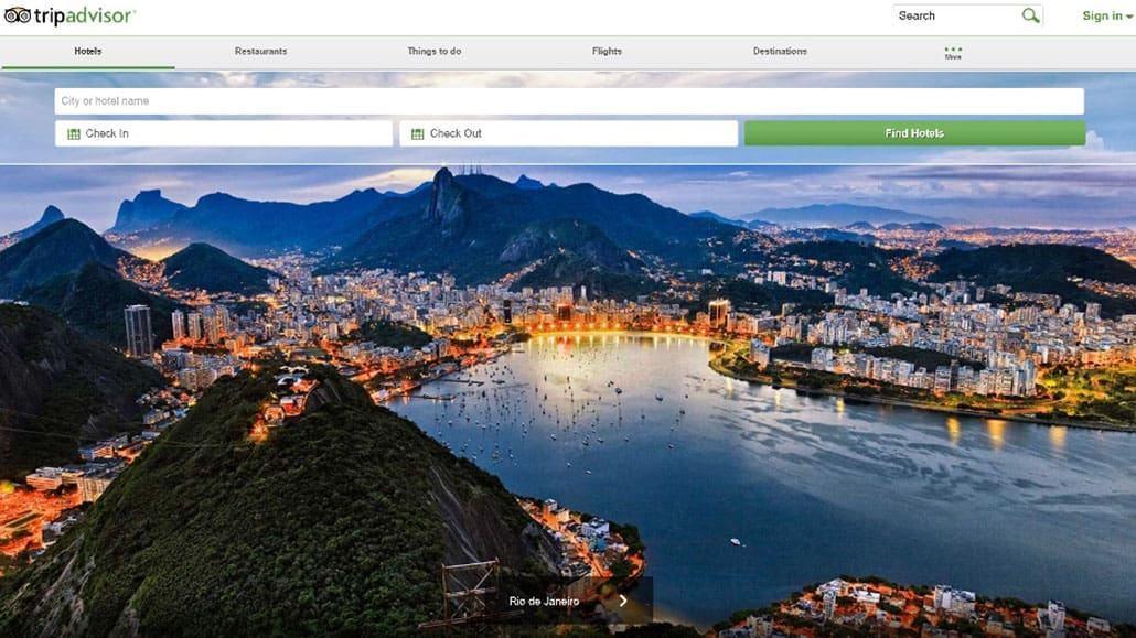 Trang web Tripadvisor đối với nhà hàng khách sạn và các công ty du lịch
