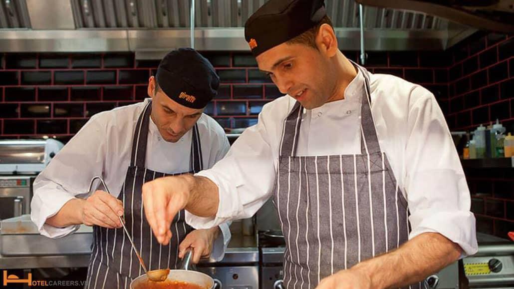 Chef de Partie - Trưởng ca bếp