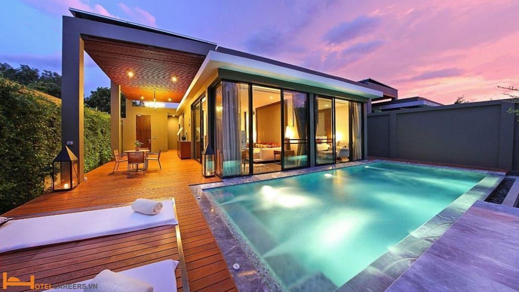 Villa - Phòng nhà ở riêng biệt có bể bơi