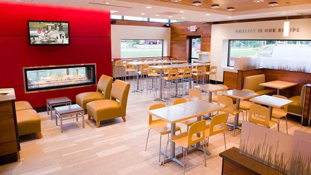 Chi phí mặt bằng chiếm tỉ trọng lớn tron vốn mở nhà hàng