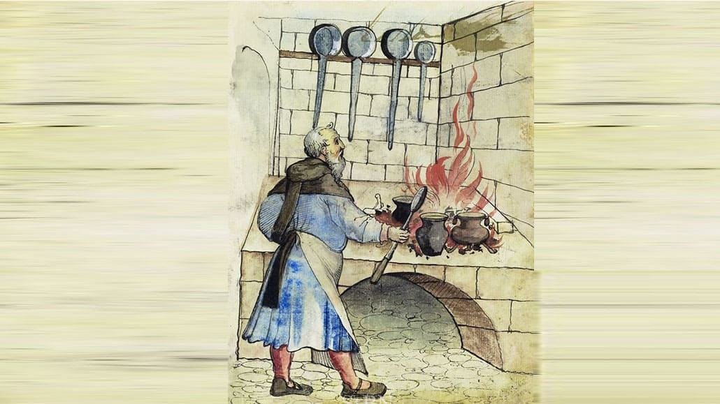 Đầu bếp thời trung cổ
