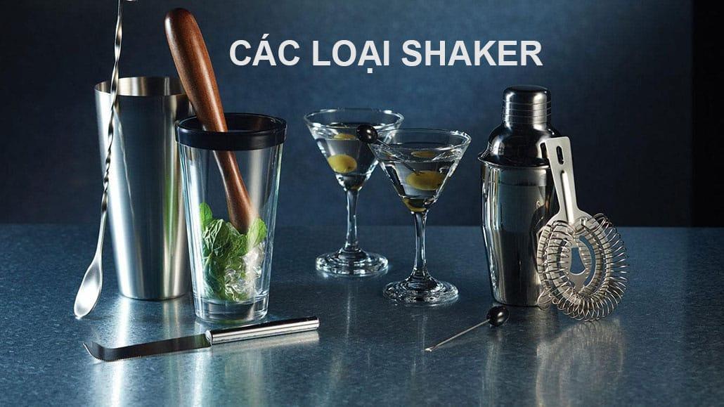 Các loại Shaker