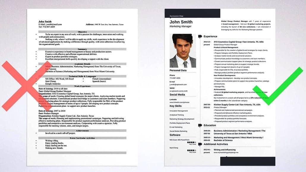 Các lỗi thường gặp khi viết CV xin việc