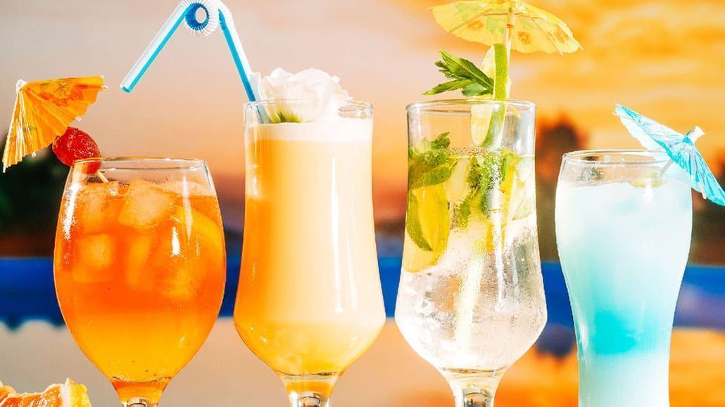 Trang trí các loại cocktail