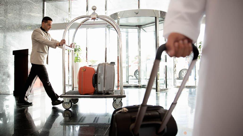 Ca làm việc của nhân viên hành lý