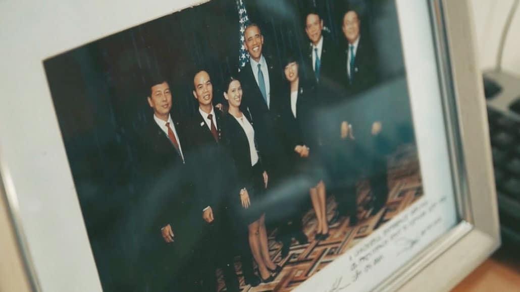 Obama cảm ơn đội ngũ khách sạn
