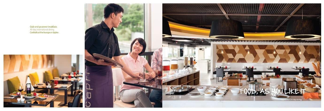 Nhà hàng căn hộ khách sạn Capri by Fraser Ho Chi Minh City
