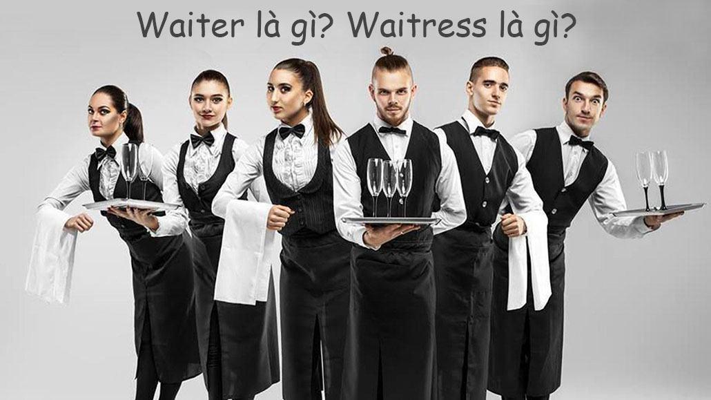 Waiter là gì? Waitress là gì?