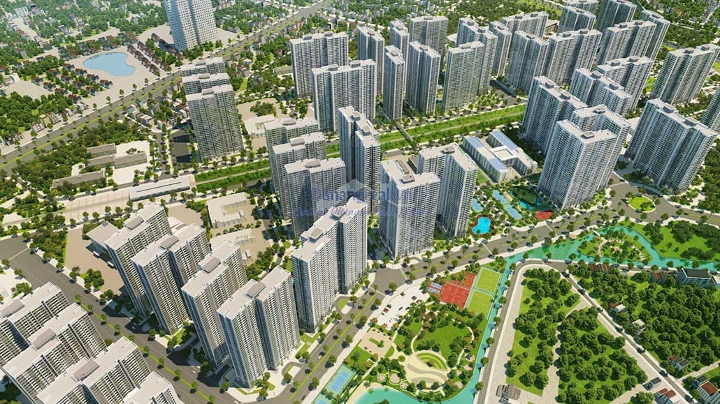 Các dòng sản phẩm của Vinhomes Smart City
